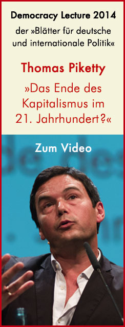 Democracy Lecture mit Thomas Piketty