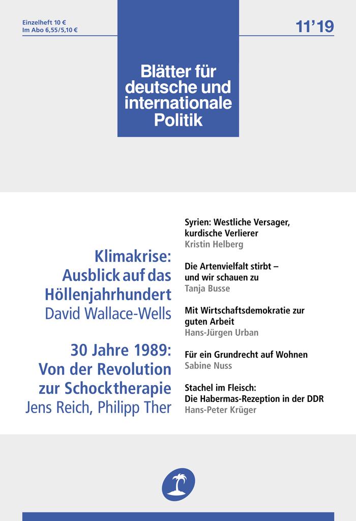 Wirtschaftsdemokratie Als Transformationshebel Blatter Fur Deutsche Und Internationale Politik
