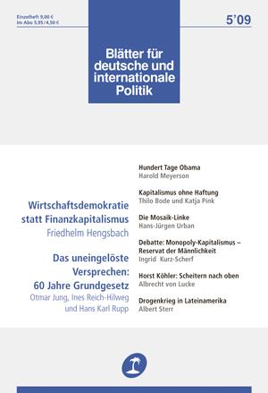 Die Mosaik Linke Blatter Fur Deutsche Und Internationale Politik
