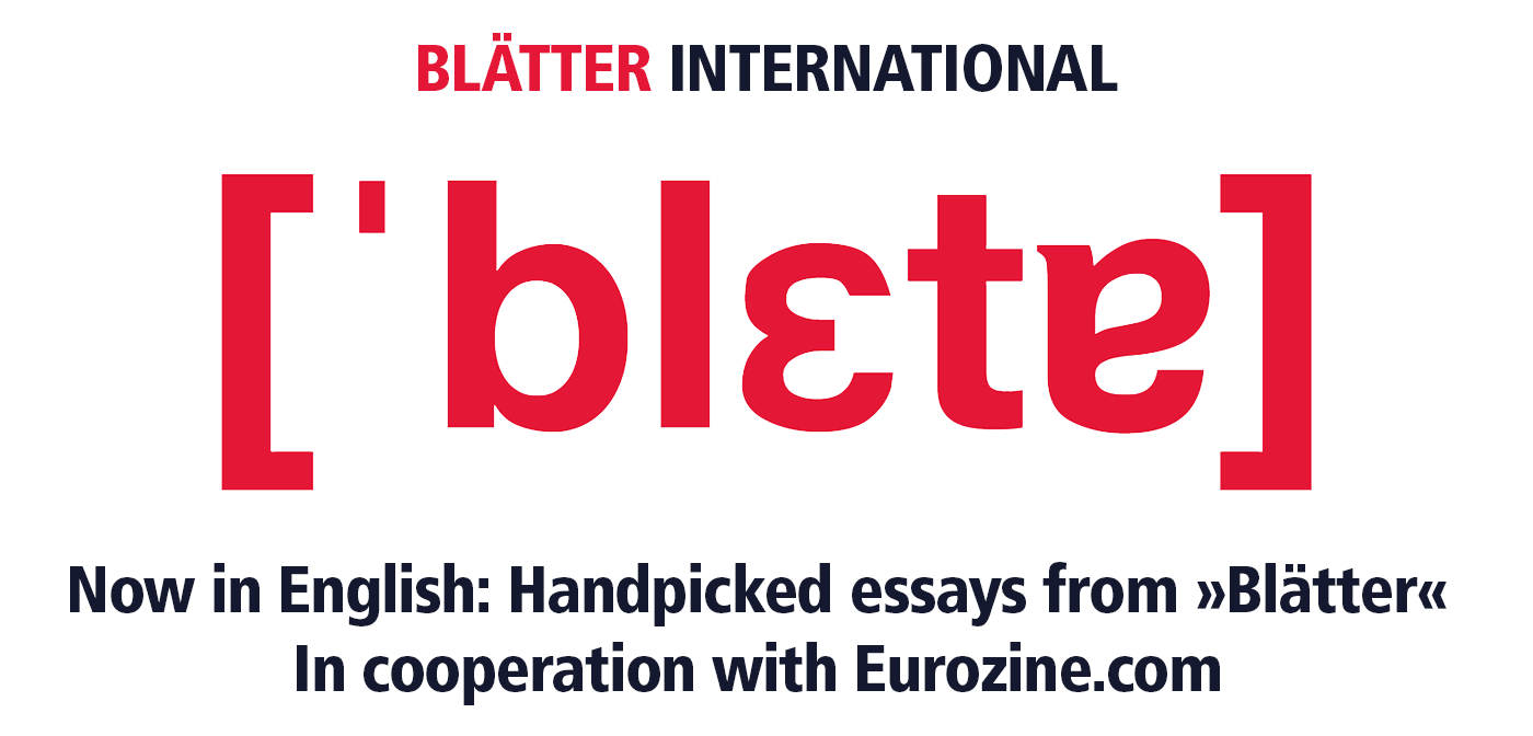 Blätter Internation