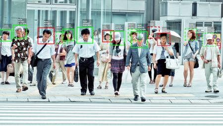 Biometrische Videoüberwachung in China