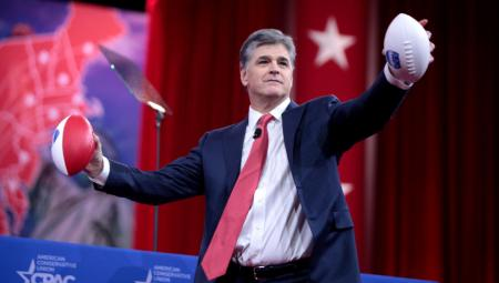 Fox-News Moderator Sean Hannity